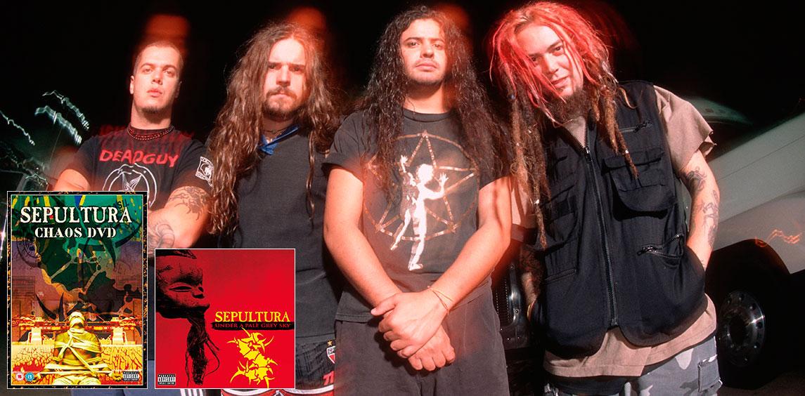 Sepultura – Under a Pale Grey Sky / Chaos…
