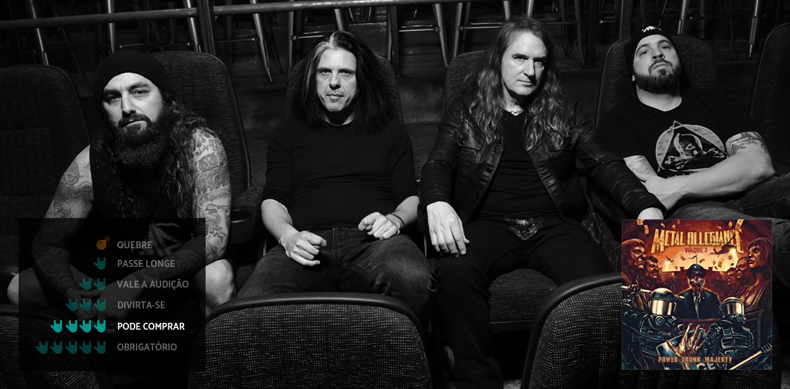 Metal Allegiance – Volume II – Power Drunk Majesty